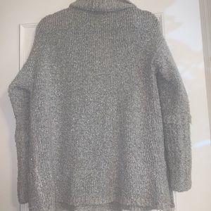 Calvin Klein Jeans open sweater cardigan w/pockets